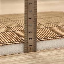 straw rugs weave mat rattan bamboo non slip wooden floor protect carpet summer sleeping area rug