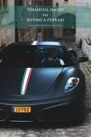 Good luck finding a cheap ferrari! Afford Exotic Cars Affordexoticcars Profile Pinterest