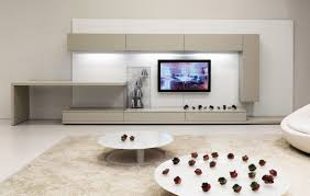 Wall Mounted Living Room Furniture Luxury Living Room Furniture With Round Tables Sofa And Tv Stand