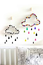 cloud wall decor nursery decor kids