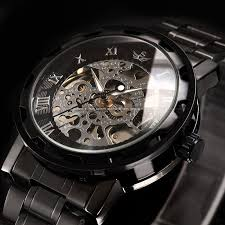 aliexpress com buy mens classic stainless steel watch aliexpress com buy mens classic stainless steel watch transparent steampunk wristwatch skeleton mechanical watch shipping from reliable steel watch
