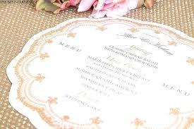 Vintage Wedding Menu Royalinnrichmondhillga Com