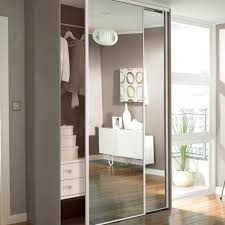 sliding mirror closet doors can be applied to sliding wardrobe doors which has a function as a mirror when wearing clothes