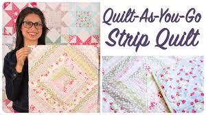 Quilt-As-You-Go Made Modern Book - Strip Quilt - YouTube & Quilt-As-You-Go Made Modern Book - Strip Quilt Adamdwight.com