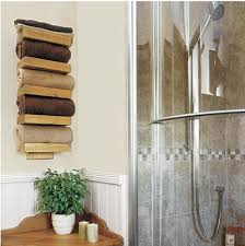 bath towel holder for wall. 11 Different Ways To Display/Hang Your Bathroom Towels! Really Neat Ideas! Bath Towel Holder For Wall B