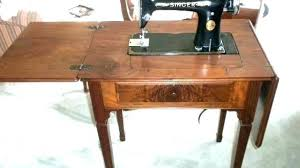 singer sewing machine table sewing machine singer old antique sewing machine table value value of old