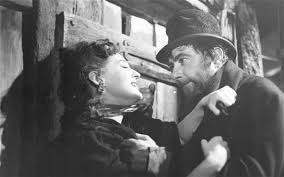 nancy my favourite charles dickens character telegraph kay walsh nancy is attacked by bill sikes robert newton in the