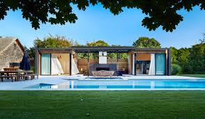 pool house. Fine Pool A Modern Pool House Retreat From ICRAVE  Intended