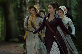 pride and prejudice and zombies reelgingermoviefan image