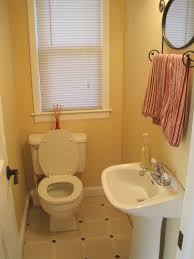 small corner bathroom sink. Interior. White Bathroom Sink Stand Added By Latrine On Cream Tile Floor And Small Corner