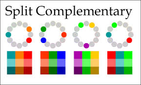 ... Split Complementary Colors Fascinating Understanding Complementary And  Split Complementary Color Schemes ...