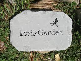 engraved garden stones. Personalized Garden Stones. « Engraved Stones E