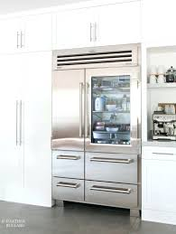 awesome sub zero glass door refrigerator in excellent home design wallpaper with front for freezer combo