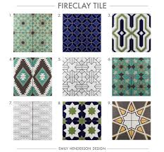 Patterned Tiles For Kitchen Where To Buy Cement Tiles Emily Henderson