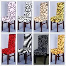 elastic kitchen chair covers 1 piece sure fit soft stretch spandex pattern for short dining kitc