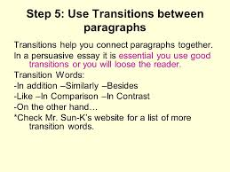 essay paragraph transitions co essay paragraph transitions