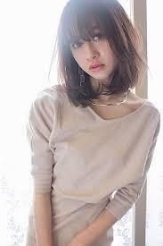 髪型はボブパーマで恋の予感ゆるふわ度100ヘアカタログ Arine