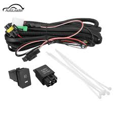 led light wiring harness promotion shop for promotional led light Ford Fog Light Wiring Harness h11 fog light wiring harness sockets wire led indicators switch automotive relay for ford honda nissan acura 2007 ford focus fog light wiring harness