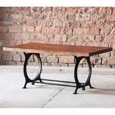 industrial reclaimed wood dining table. hyatt canning industrial reclaimed wood dining table - modish living i