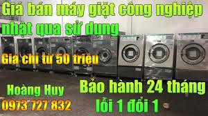 Giá Bán máy giặt công nghiệp nhật bãi 15kg 20kg 25kg 30kg 35kg 50kg  (T3/2021) - YouTube