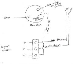 fj40 wiper motor wiring diagram fj40 wiring diagrams replacement early wiper motor ih8mud forum