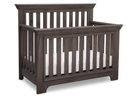 rustic crib furniture. serta rustic grey 084 langley 4in1 crib right view a2a furniture s