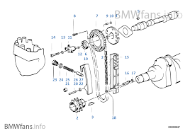timing and valve train timing chain bmw 5 e34 535i m30 usa timing and valve train timing chain