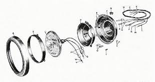 m38a1 group 6 electrical service headlight assy