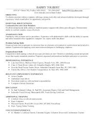 Resume Additional Skills Examples Skills For Resumes Examples Resume