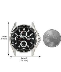 casio edifice multi dials ef 334d 1avdf ed420 men s watch buy casio edifice multi dials ef 334d 1avdf ed420 men s watch