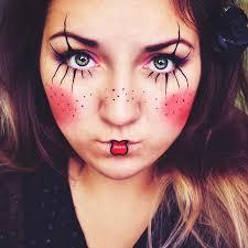 lena lednicka pierrot the clown makeup tutorial cute
