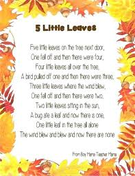 Halloween Poem Ideas Cute Crafts For First Grade Best Fall Poems