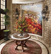 unique entryway tables. formal mediterranean round entryway table mediteranian idea art piece of rug unique wall decoration tables
