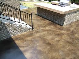 acid staining concrete not just for