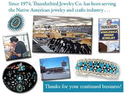 since 1974 thunderbird jewelry co has been serving the whole native american indian jewelry and crafts industry thunderbird jewelry co sells