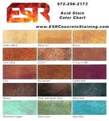 Concrete Floor Color Chart Hc Semi Transparent Concrete Stain Lavozfm Com Co