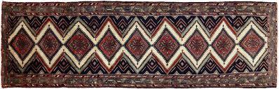 12 foot wool runner rug new 4 x 2