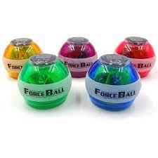 Cổ Tay Bóng Con Quay Hồi Chuyển Porceball Cổ Tay Tập Cơ Điện Strengthener  Lực Bóng Con Quay Hồi Chuyển Thể Thao Wristball Tay Spinner Có Đèn LED Tốc  Độ|wrist ball