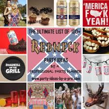 redneck party ideas