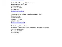 Standard Reference Letter Resume Template