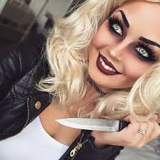 chucky s bride of makeup costume and his