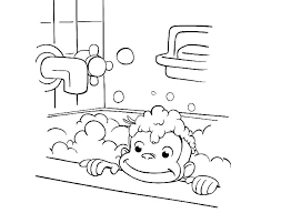 Coloring Pages Curious George Coloring Pages On Index Games
