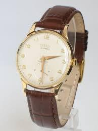 superb 9ct solid gold trebex oversize mens watch c1961 104392 superb 9ct solid gold trebex oversize mens watch c1961 antique photo