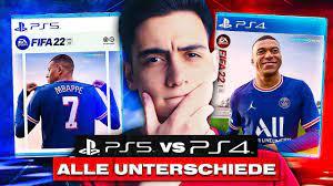 FIFA 22: PS5 vs PS4 ALLE UNTERSCHIEDE! 🔥 LOHNT sich FIFA 22 NUR auf  PS5/NEXT GEN? (NEWS) - YouTube