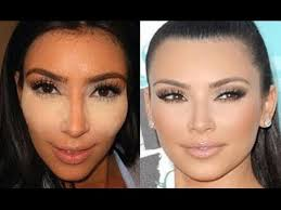 kim kardashian concealer contouring tutorial step by step