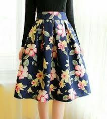 <b>Marble</b> Chic <b>Printed</b> Midi Skirt - Skirt - Bottoms - Retro, Indie and ...