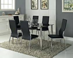 glass dining table sets uk. full image for black glass dining room tables uk round table and chairs sets