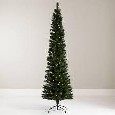 Buy John Lewis Pre-Lit Pencil Pine Christmas Tree, 7ft Online at johnlewis.