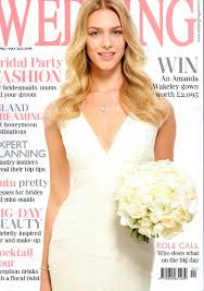 Coverage Wedding Magazine April May 2015