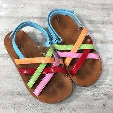Gymboree Shoe Size Chart Inches Gymboree Multi Color Sandals